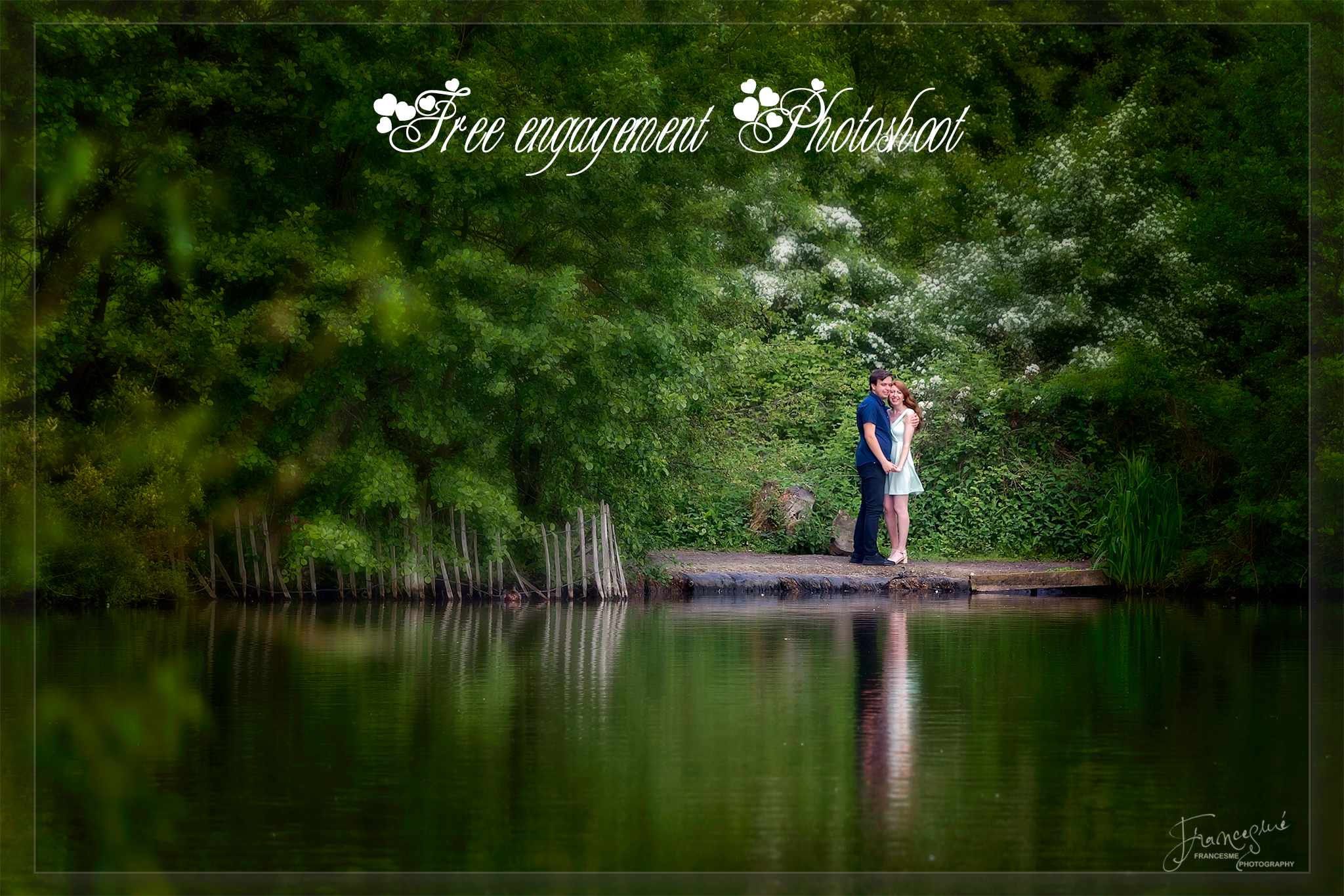 Free engagement photoshoot